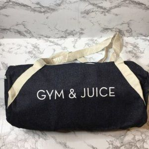 Private Party Bags Tote Gym /Travel Denim nwt